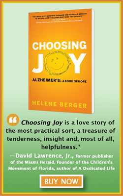 Choosing Joy: Alzheimers, A Book of Hope